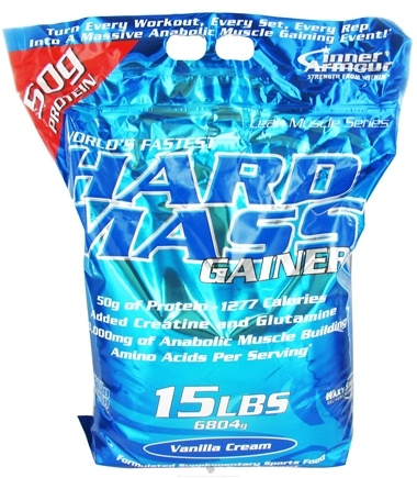 DROPPED: Inner Armour - Hard Mass Gainer Vanilla Cream - 15 lbs.
