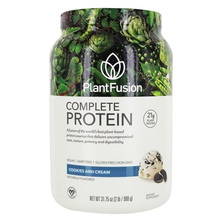 PlantFusion - Nature's Most Complete Plant Protein Cookies N' Creme - 2 lbs.