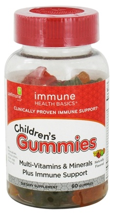 DROPPED: Immune Health Basics - Children's Multi-Vitamin Gummies - 60 Gummies