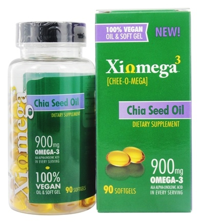 DROPPED: XiOmega - Chia Seed Oil - 90 Softgels