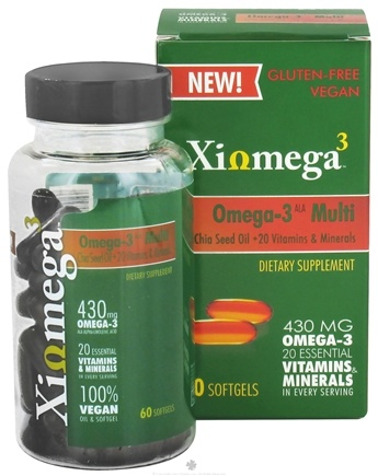 DROPPED: XiOmega - Omega-3 Multi - 60 Softgels CLEARANCE PRICED