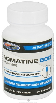 DROPPED: USP Labs - Agmatine Ultra-Premium Quality 30 Day Supply 500 mg. - 60 Capsules