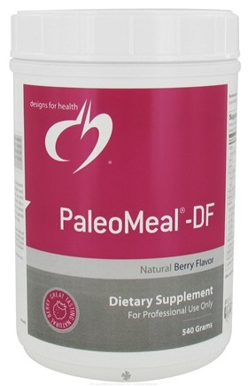 DROPPED: Designs For Health - PaleoMeal-DF Natural Berry Flavor - 540 Grams