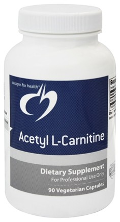 DROPPED: Designs For Health - Acetyl L-Carnitine 800 mg. - 90 Vegetarian Capsules