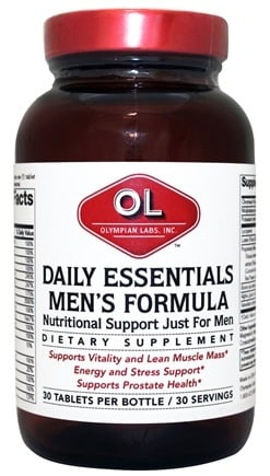 DROPPED: Olympian Labs - Daily Essentials Men's Formula - 30 Tablets CLEARANCE PRICED