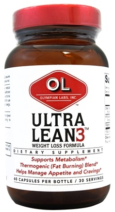 DROPPED: Olympian Labs - Ultra Lean 3 - 60 Capsules CLEARANCE PRICED