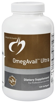 DROPPED: Designs For Health - OmegAvail Ultra - 120 Softgels