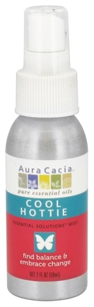 DROPPED: Aura Cacia - Essential Solutions Mist Cool Hottie - 2 oz. CLEARANCE PRICED