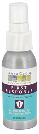 DROPPED: Aura Cacia - Essential Solutions Mist First Response - 2 oz. CLEARANCE PRICED