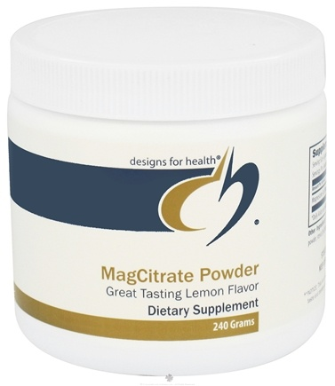 DROPPED: Designs For Health - MagCitrate Powder - 240 Grams CLEARANCE PRICED