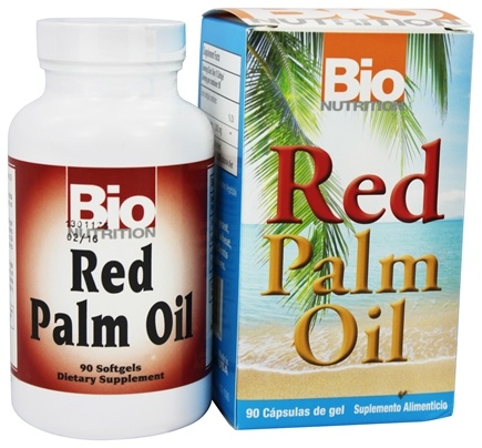 Bio Nutrition - Red Palm Oil - 90 Softgels
