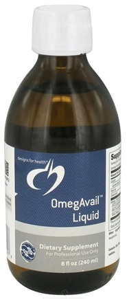 DROPPED: Designs For Health - OmegAvail Liquid - 8 oz. CLEARANCE PRICED