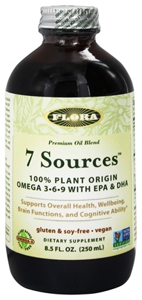 DROPPED: Flora - 7 Sources Omega 3-6-9 With EPA & DHA - 8.5 oz.