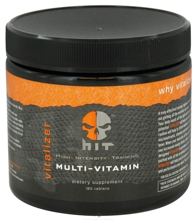 DROPPED: HIT Supplements - Vitalizer Multi-Vitamin - 180 Tablets CLEARANCE PRICED