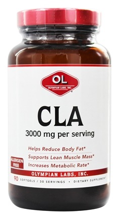 Olympian Labs - CLA 3000 mg. - 90 Softgels