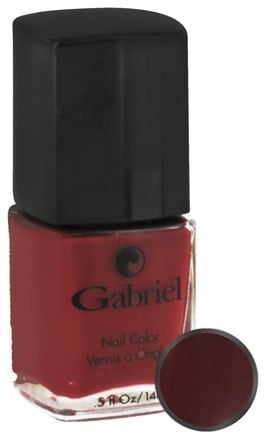 Gabriel Cosmetics Inc. - Nail Color Sangria - 0.5 oz. CLEARANCE PRICED