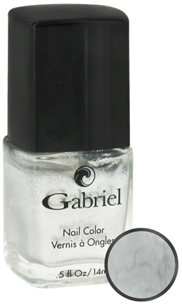 Gabriel Cosmetics Inc. - Nail Color Liquid Silver - 0.5 oz. CLEARANCE PRICED