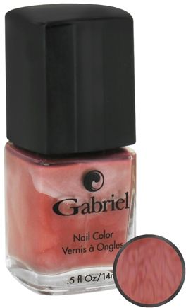 DROPPED: Gabriel Cosmetics Inc. - Nail Color Golden Osetra - 0.5 oz. CLEARANCE PRICED
