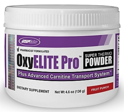 DROPPED: USP Labs - UNPUBLISHED Oxy Elite Pro Super Thermogenic New Formula Fruit Punch - 4.6 oz.