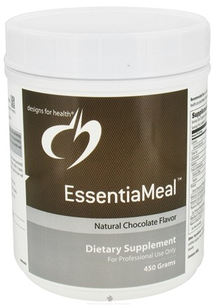 DROPPED: Designs For Health - EssentiaMeal Natural Chocolate Flavor - 450 Grams