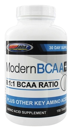 USP Labs - Modern BCAA 8:1:1 Amino Acid Supplement - 150 Tablets