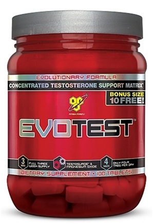 DROPPED: BSN - EvoTest Testosterone Support Matrix - 90 Tablets