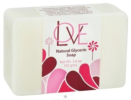 DROPPED: Auric Blends - Natural Glycerin Bar Soap Love - 3.6 oz. CLEARANCE PRICED