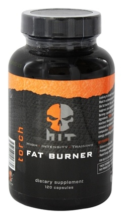DROPPED: HIT Supplements - Torch Fat Burner - 120 Capsules