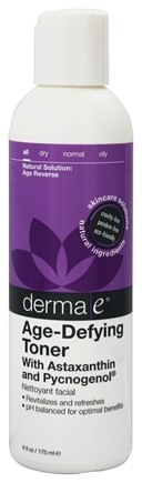 DROPPED: Derma-E - Age-Defying Toner with Astaxanthin and Pycnogenol Lavender - 6 oz.