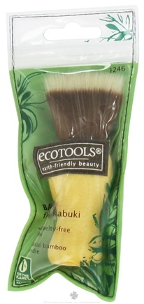 DROPPED: Eco Tools - Bamboo Finishing Kabuki Brush - CLEARANCE PRICED