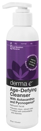 DROPPED: Derma-E - Age-Defying Cleanser with Astaxanthin and Pycnogenol Lavender - 6 oz.