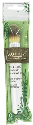 DROPPED: Eco Tools - Recycled Retractable Foundation Brush