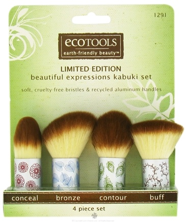 DROPPED: Eco Tools - Beautiful Expressions Kabuki Set - 4 Piece(s)