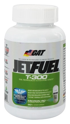 DROPPED: GAT - T-300 Dual Thermogenesis-Testosterone Catalyst - 90 Capsules CLEARANCE PRICED