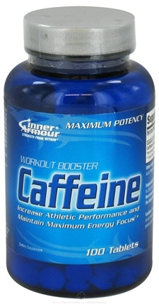 DROPPED: Inner Armour - Caffeine Workout Booster - 100 Tablets