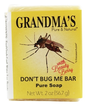 Remwood Products Co. - Grandma's Pure & Natural Don't Bug Me Bar - 2.15 oz.