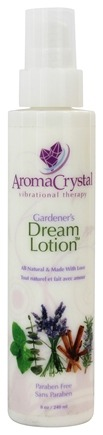 DROPPED: Aroma Crystal - Gardener's Dream Lotion - 8 oz. CLEARANCE PRICED