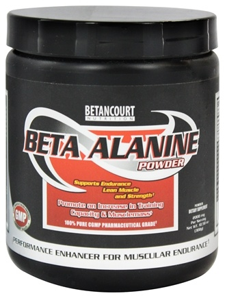 Betancourt Nutrition - Beta Alanine Powder - 300 Grams CLEARANCE PRICED