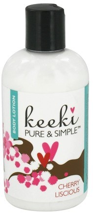 DROPPED: Keeki Pure & Simple - Body Lotion Cherry Liscious - 8 oz. CLEARANCE PRICED