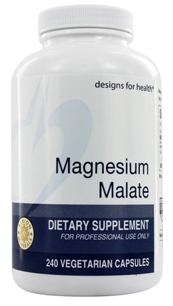 Designs For Health - Magnesium Malate - 240 Tablets