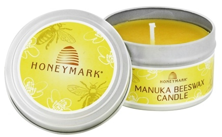 DROPPED: Honeymark - Manuka Beeswax Candle - 6 oz. CLEARANCE PRICED