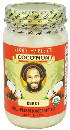 DROPPED: Ziggy Marley Organics - Coco'Mon Cold-Pressed Coconut Oil Curry - 14 oz. CLEARANCE PRICED
