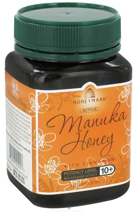 DROPPED: Honeymark - Active Manuka Honey with Cinnamon - 17.64 oz. CLEARANCE PRICED