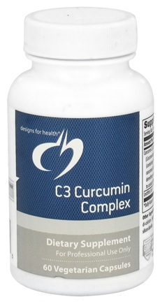 Designs For Health - C3 Curcumin Complex - 60 Vegetarian Capsules