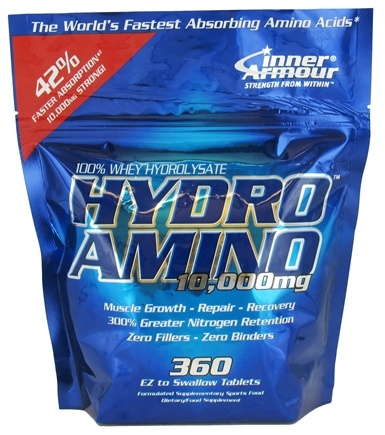 DROPPED: Inner Armour - Hydro Amino - 360 Tablets CLEARANCE PRICED