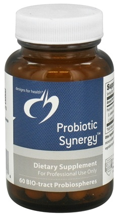 DROPPED: Designs For Health - Probiotic Synergy - 60 Spheres - DAILY DEAL