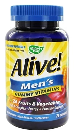 Nature's Way - Alive Men's Gummy Vitamins - 75 Gummies
