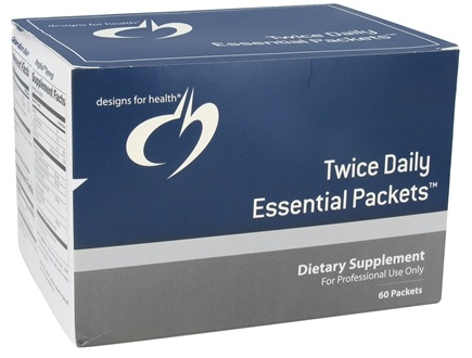 DROPPED: Designs For Health - Twice Daily Essential Packets - 60 Packet(s) CLEARANCE PRICED