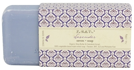 DROPPED: La Belle Vie - Triple Milled Bar Soap Lavender - 7 oz.