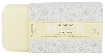 DROPPED: La Belle Vie - Triple Milled Bar Soap Milk - 7 oz. CLEARANCE PRICED